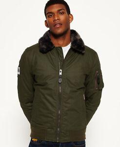 Flite uomo da Winter Deep Nuova Sdr Superdry Khaki giacca 6CwYvY
