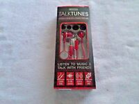 Sentry Talk Tunes Stereo Earbuds - Hands Free Mic - - Hm119