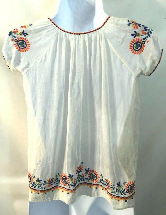 Vintage 1970s Hungarian embroidered tie tassel Pe… - image 2