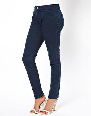 Ex GAP Women/'s Dark Rinse Skinny Ankle Denim Jeans Gap Factory RRP $59.99