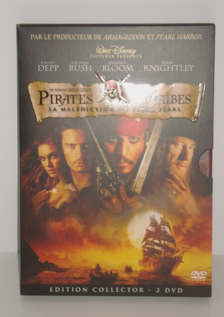 DVD PIRATES DES CARAIBES JOHNNY DEPP EDITION COLLECTOR 2 DVD