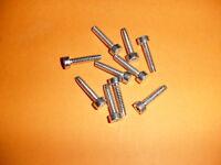 Stihl Chainsaw 029 039 Ms250 Ms290 Ms390 Ts460 Handle Bar Screws 10 Pack D5x24