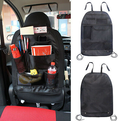 Car Back Seat Tidy Organiser Multi-Pocket Holder Pouch Storage Bag Universal