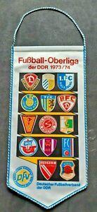 Orig-Wimpel-DDR-Oberliga-1973-74-Fussball-Jahreswimpel-BFC-Dynamo-FCM-Jena-Aue