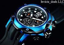 Invicta Men's 52mm Sapphire BLUE Speedway Swiss Z60 Chronograph Poly Strap Watch