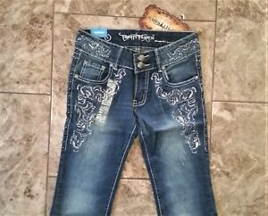 Montana-West-Trinity-Ranch-Jeans-Boot-Cut-Discontinued-Western-Junior-Jeans