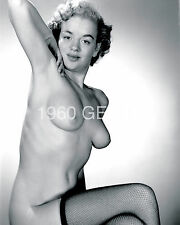 1950s 8X10 NUDE PLAYBOY PLAYMATE ARLENE HUNTER PHOTO FROM ORIGINAL NEG-7 RARE!