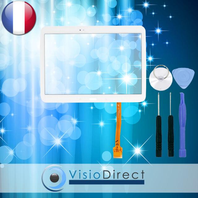 "Vitre ecran tactile pour Samsung Galaxy Tab 3 10.1"" P5200 P5210 P5220 blanc"