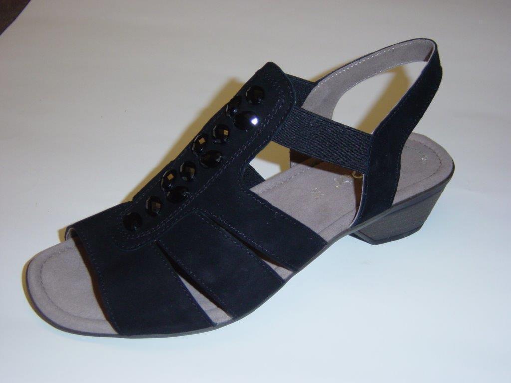 Gabor Sandaletten   black   Nubukleder   Größe UK 4 4,5 6,5 7,5 (Sandalen)