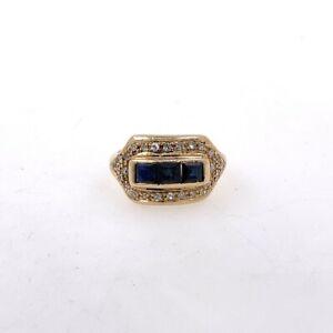 Damenring-aus-18-kt-Rosegold-mit-0-60-ct-saphire-und-0-50-ct-Diamanten-Gr-52-EU