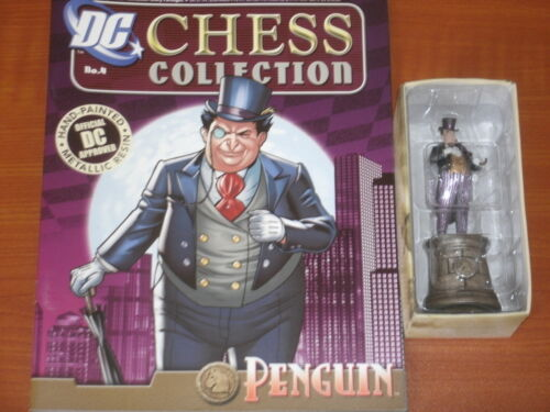 DC Chess Collection Set 1 Eaglemoss Batman Joker Harley Gordon Gotham Batwoman
