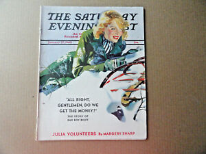 Saturday-Evening-Post-Magazine-January-27-1940-Complete