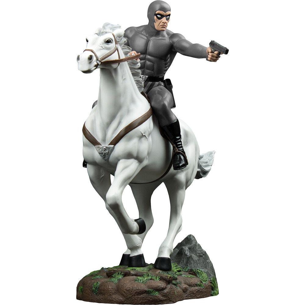 El Fantasma Fantasma en gris Traje a caballo  héroe Edición Limitada  estatua Exclusiva.