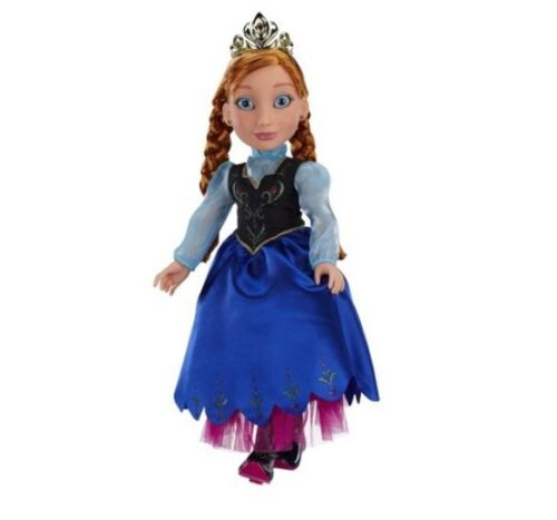 "Disney Frozen Princess and Me Anna  18/""  Doll NEW IN BOX!"