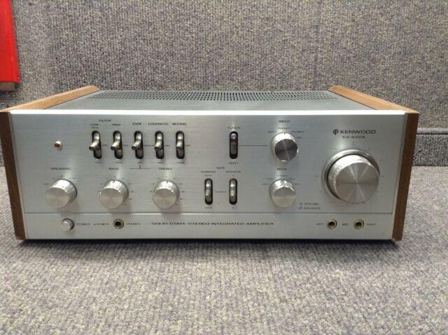 Kenwood KA-6006 Vintage Integrated Amplifier!!