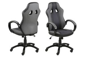 buy online 2fc88 aa048 Details about Design Stylish Desk Chair NEW Faux leather upholstery, gas  lift & swivel Quality