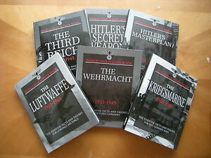 World-War-II-Data-Books-Kriegsmarine-Wehrmacht-Luftwaffe-6-NEW-Hardcovers