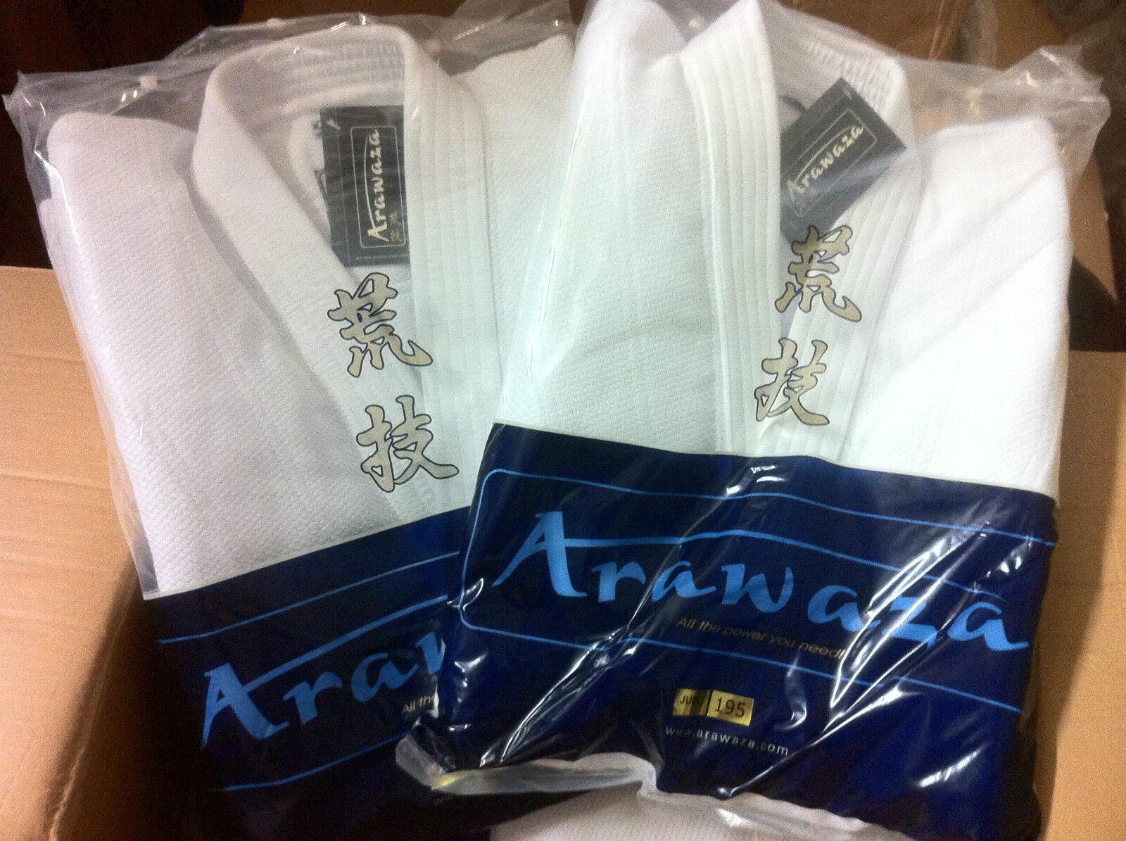 Brand New ARAWAZA ONYX 20oz Top Quality JUDO SUIT GI 160 165 190 195 200 & 205
