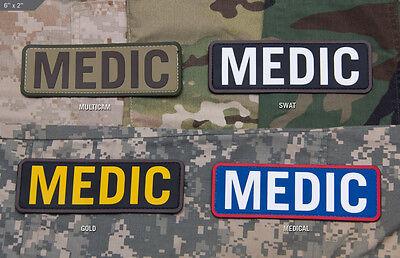 Mil Spec Monkey MSM Medic Patch-Multicam-SWAT-Gold-Medical