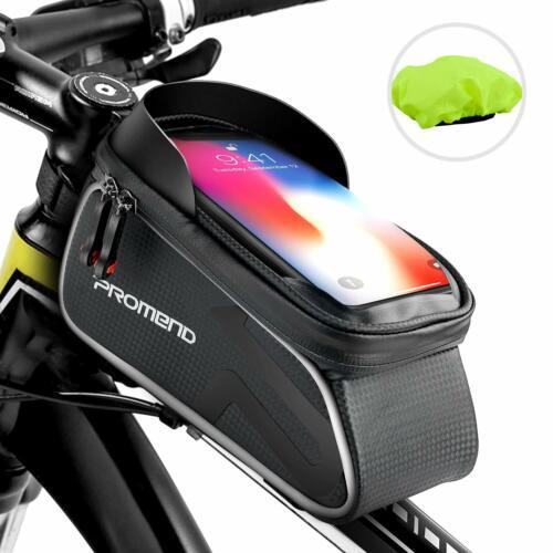 SHENKEY Bike Bag Bike Frame Bag Waterproof Touch Screen Bicycle Handbar Front