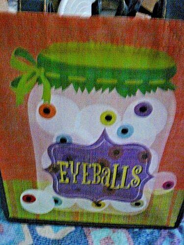 NWT Publix Halloween Eyeballs reusable shopping bag