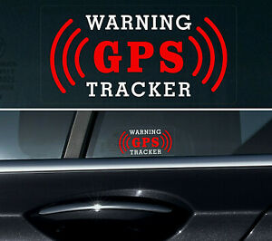 4-X-GPS-Tracker-Stickers-Alarm-Car-Vehicle-Security-THEFT-PROTECTION-REVERSE