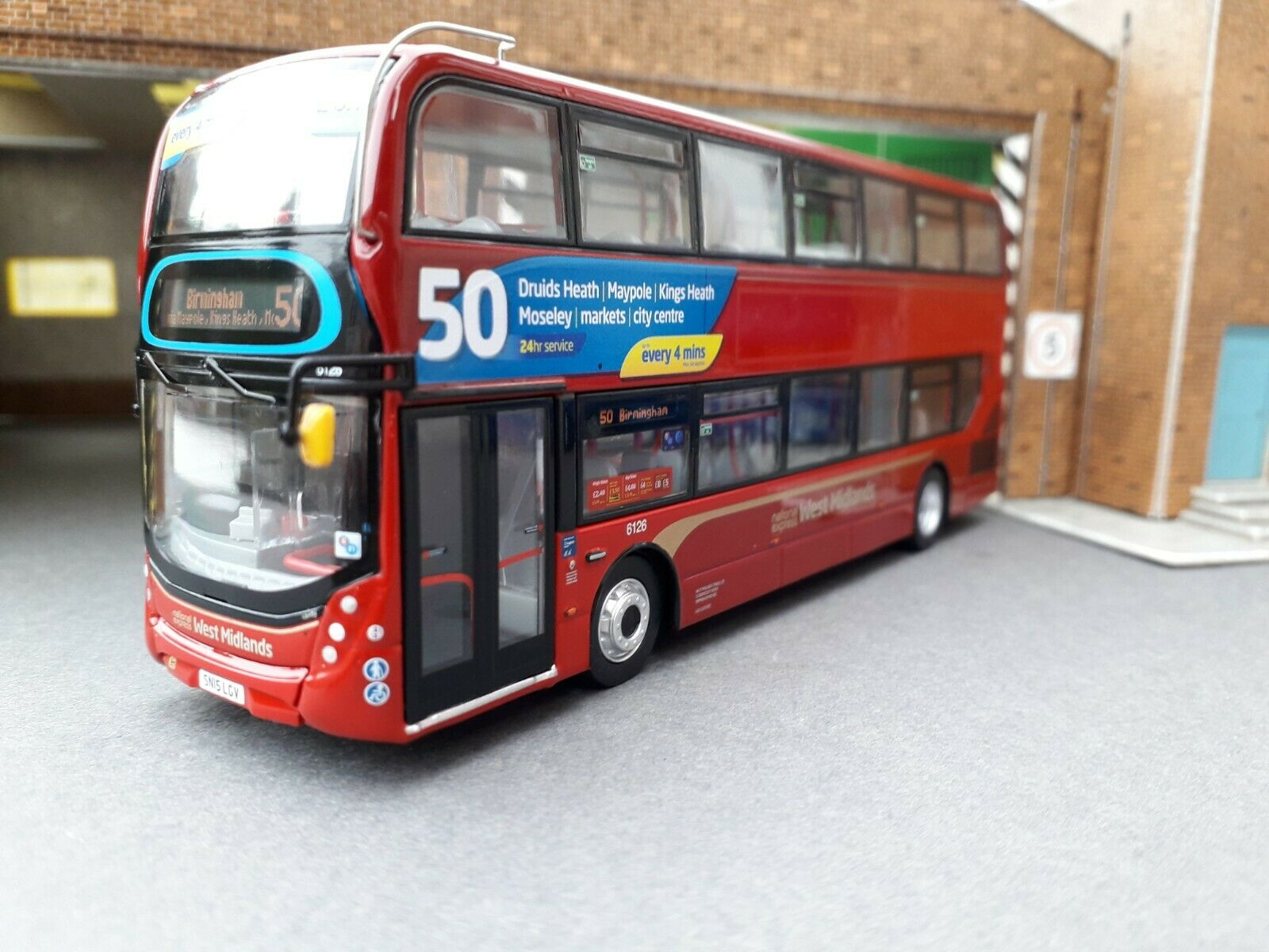 Northcord ukb 6502 Alexeer Dennis E400H MMC NAT EX Birmingham