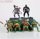 6pcs Teenage Mutant Ninja Turtles Action Figures TMNT Classic Collection Toy Set