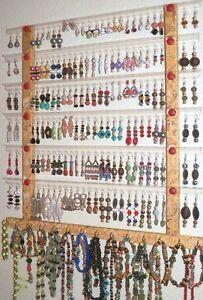 Image Is Loading Earring Holder 66 126 Pr Jewelry Organizer