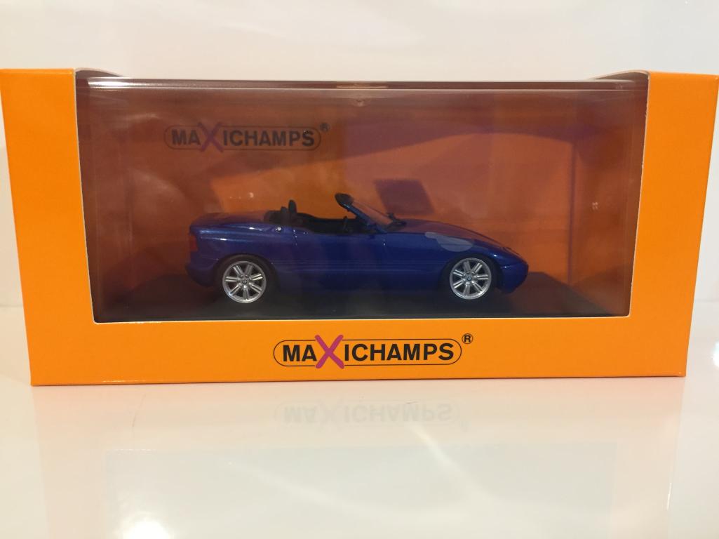 Maxichamps 940020101 BMW Z1 E30 1991 Bleu Métallisé 1 43 Echelle