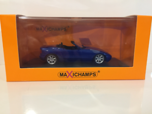 Maxichamps 940020101 Bmw Z1 E30 1991 Bleu Métallisé 1:43 Echelle