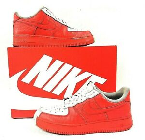Nike Air Force 1 Low Split White Red 905345 005 Mens Women's Casual Shoes Sneakers 905345 005