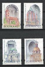 36032) POLAND 1996 MNH** Architecture 4v. Scott# 3271/74
