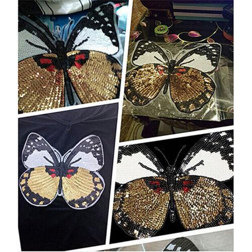 Aufbügel Patch Gestickte AppliqueShirt Hosen Nähen Löcher Kleidung Butterfly Gut