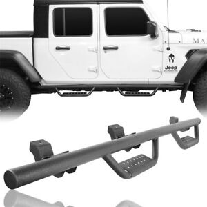 Running Boards Nerf Bars Side Step Fit 2020 2021 Jeep Gladiator JT Pickup 4-Door