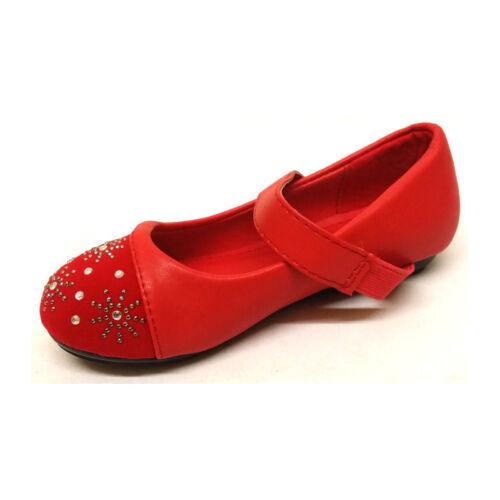 New Kids Girls Children Infants Cute Stylish Strap Slip On Causal Cute Shoes UK