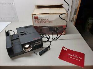 Sears-186-9832-Slide-Quartz-Projector-Auto-Focus-W-Orig-Box-Ppwk-DOESNT-ADVANCE
