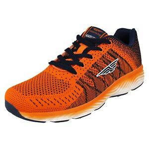 RSC0086- Mens Redtape Orange Lace Trainers- Great Price!