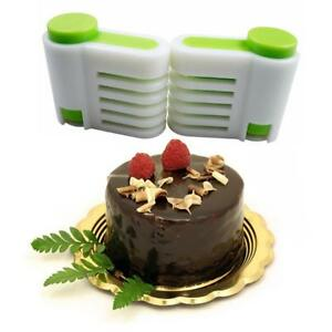 BIN-2pcs-5-Layers-Kitchen-DIY-Cake-Bread-Leveler-Cake-Slicers-Cutting-Fixator