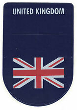 UK Flag Tax / parking permit Disc Permit Holder Brand new Royal mail 1st class