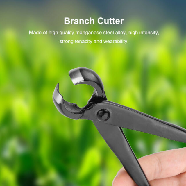 Bonsai Knob Cutter Plier Bonsai Tools Round Edge Concave Knob Branch Tool