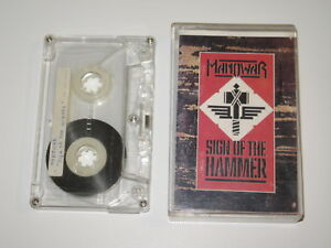 MANOWAR - Sign Of The Hammer - MC cassette tape /4199 - Olsztyn, Polska - Zwroty są przyjmowane - Olsztyn, Polska