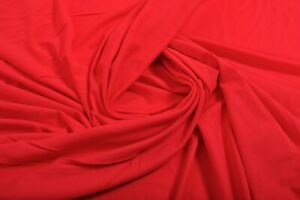 32df88c621f Image is loading STUNNING-BRIGHT-ORANGE-COTTON-JERSEY-FABRIC-STRETCH-KNIT-