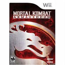NEW Mortal Kombat: Armageddon  (Wii, 2007) NTSC