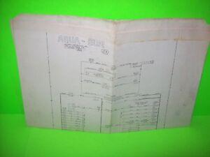 Williams-AQUA-GUN-Original-Arcade-Rifle-Gun-Machine-Schematic-Wiring-Diagram