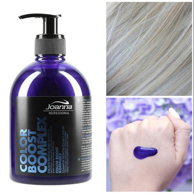 Joanna Professional Color Revitalizing Boost Shampoo Blond Grey Hair 500g