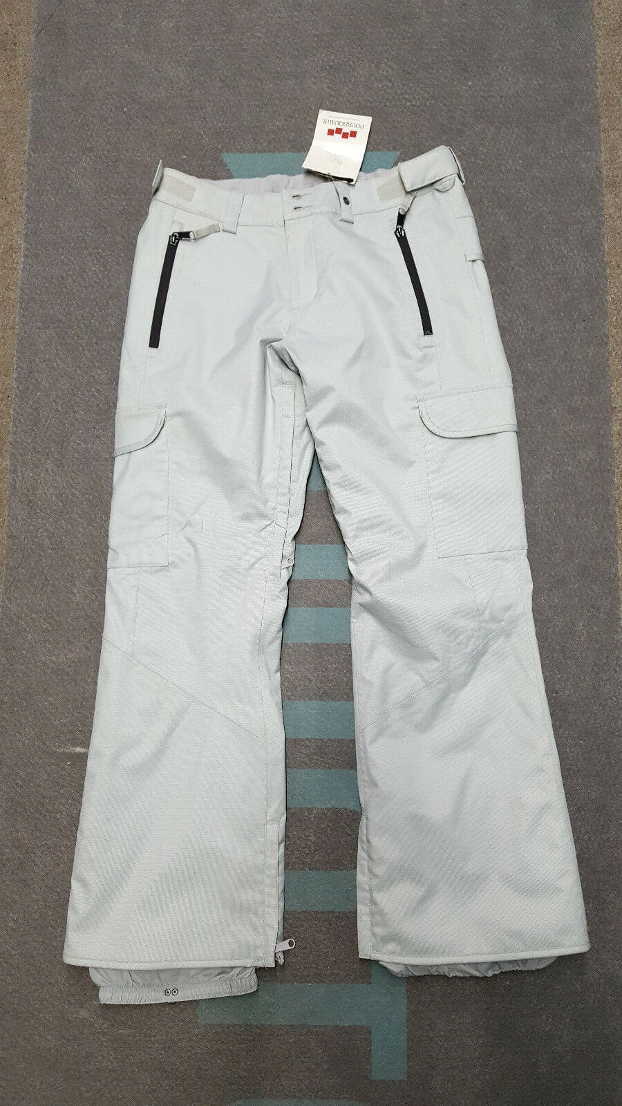 Foursquare Wms Bevel Snow Pant Medium (Granite)