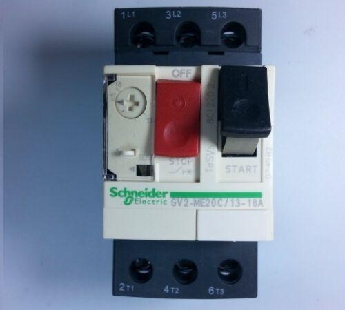 GV2-ME20C Schneider Telemecanique Motor Circuit breaker 13-18Amp.