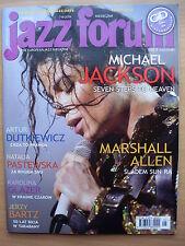 MICHAEL JACKSON on front cover Polish Magazine JAZZ FORUM 7-8/2009