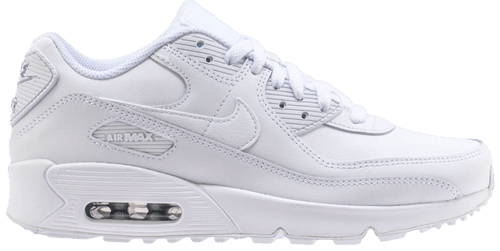 GS Nike Air Max 90 LTR Big Kid/'s Shoes White 833412-100